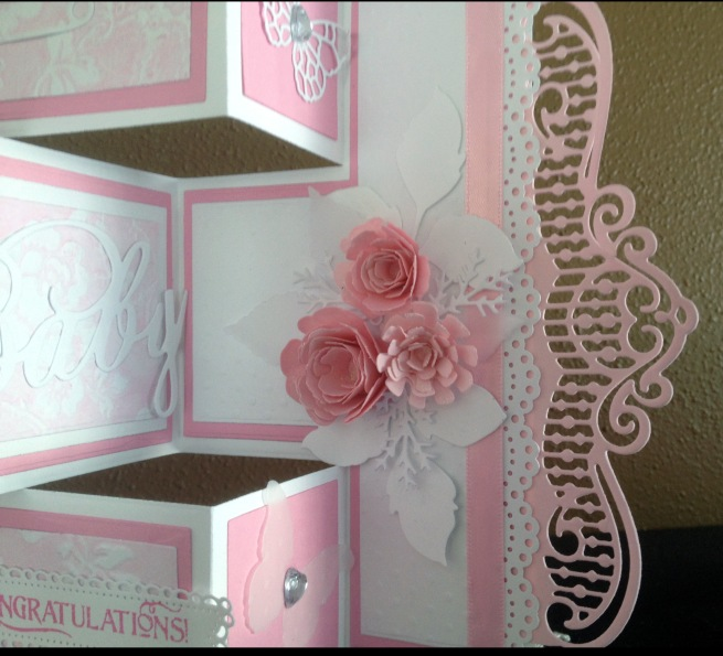baby shower card close up 3