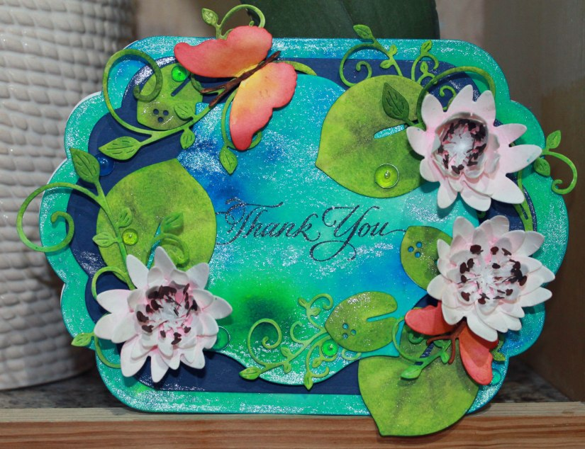 pond thank you card