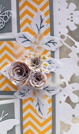 Yellow Gray Baby Shower Flowers - Copy