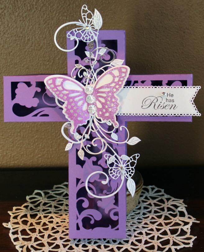 butterfly cross box