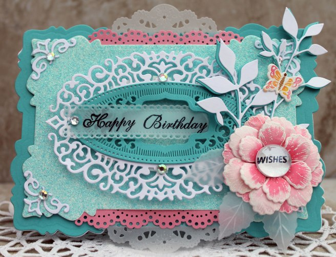 Happy Birthday Glass Wishes Birthday Card