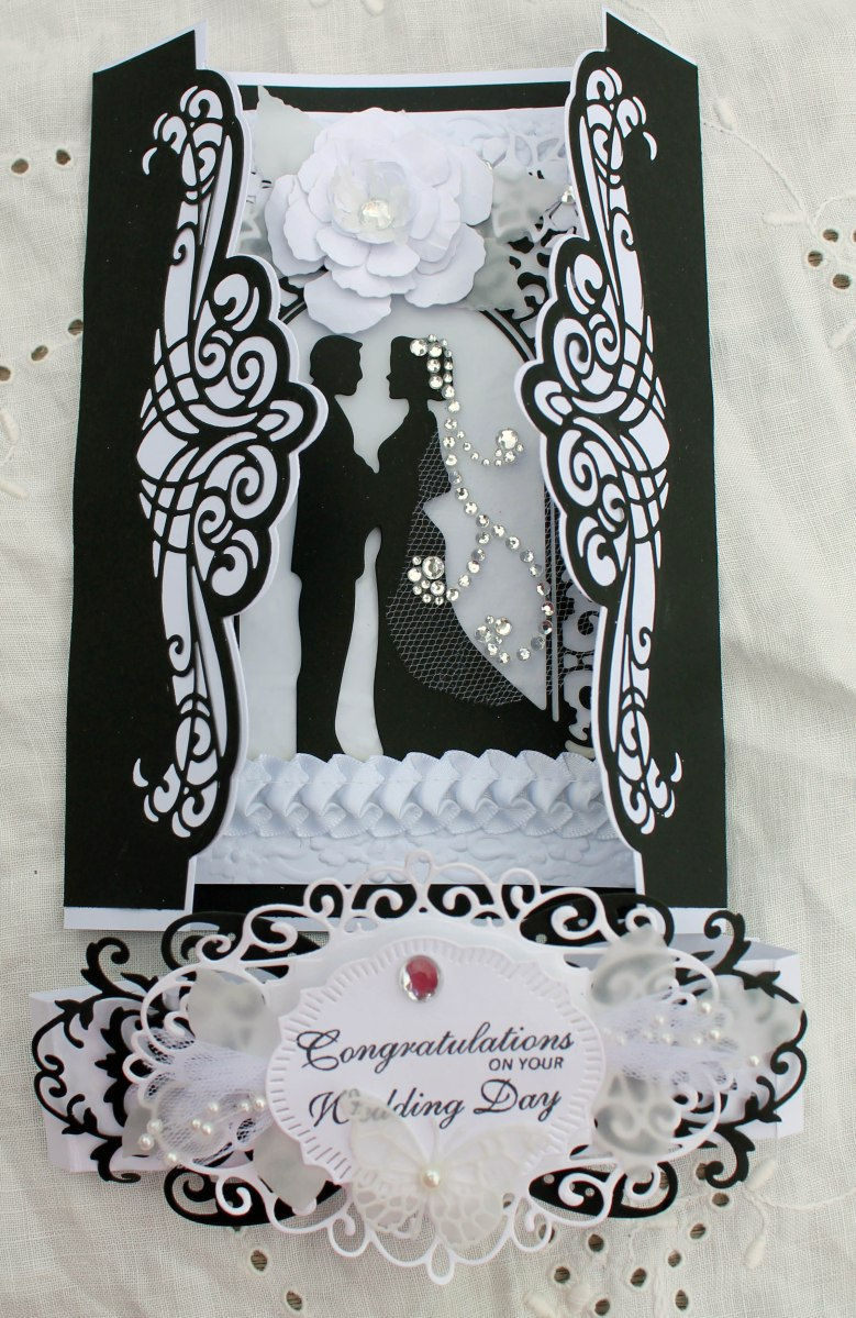 Wedding Gatefold Card Hydeparkhill Com