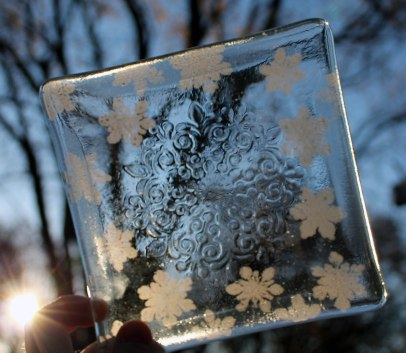 large-snowflake-embossed-and-stamped-6-x-6-plate-sunny