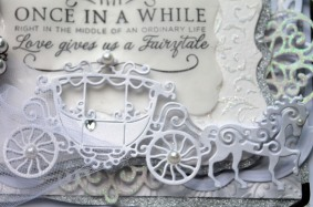 once in awhile carriage closeup