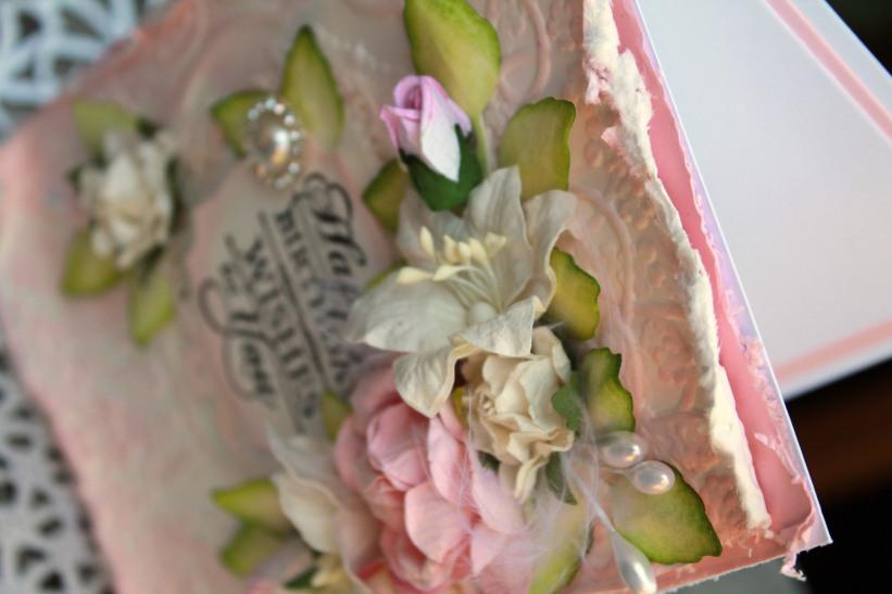 Pink HB close up inside angle