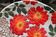 zinnia plate top half